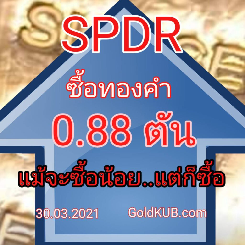 SPDR ซื้อทองคำไม่ถึงตัน-goldspot รูดแตะ $1705